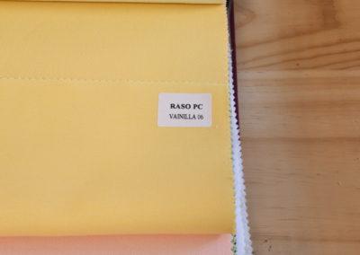 Textil para hosteleria Raso PC Vainilla