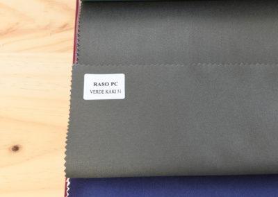 Textil para hosteleria Raso PC Verde Kaki