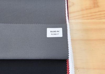 Textil para hosteleria Raso PC Plomo