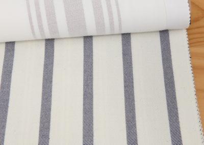 Textil para hosteleria Sarga Blanco Navy - Soluciones Hosteleria