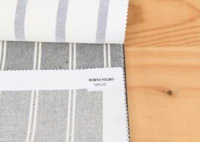 Textil para hosteleria Sarga Horno Negro - Soluciones Hosteleria