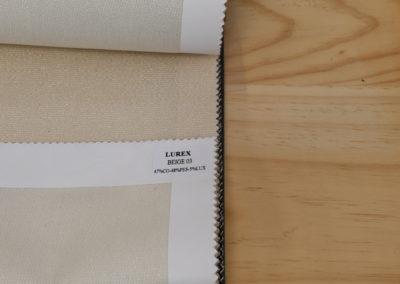 Textil para hosteleria Lurex Beige - Soluciones Hosteleria