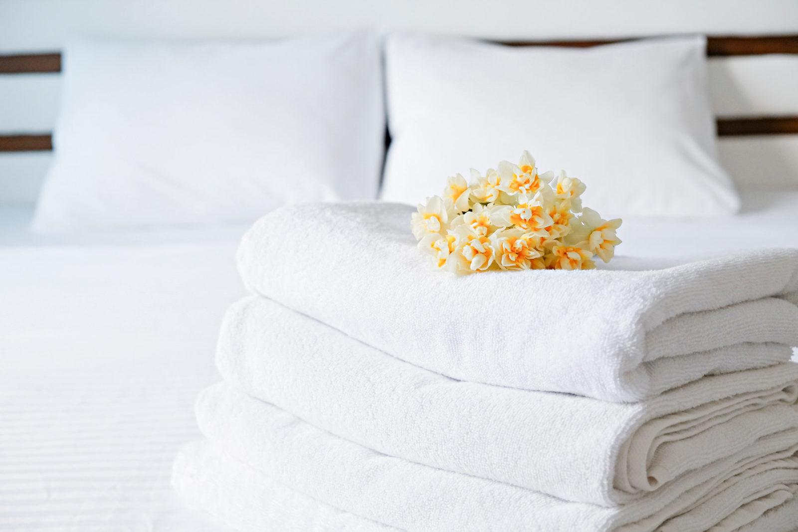 Toallas de baño blancas alta calidad